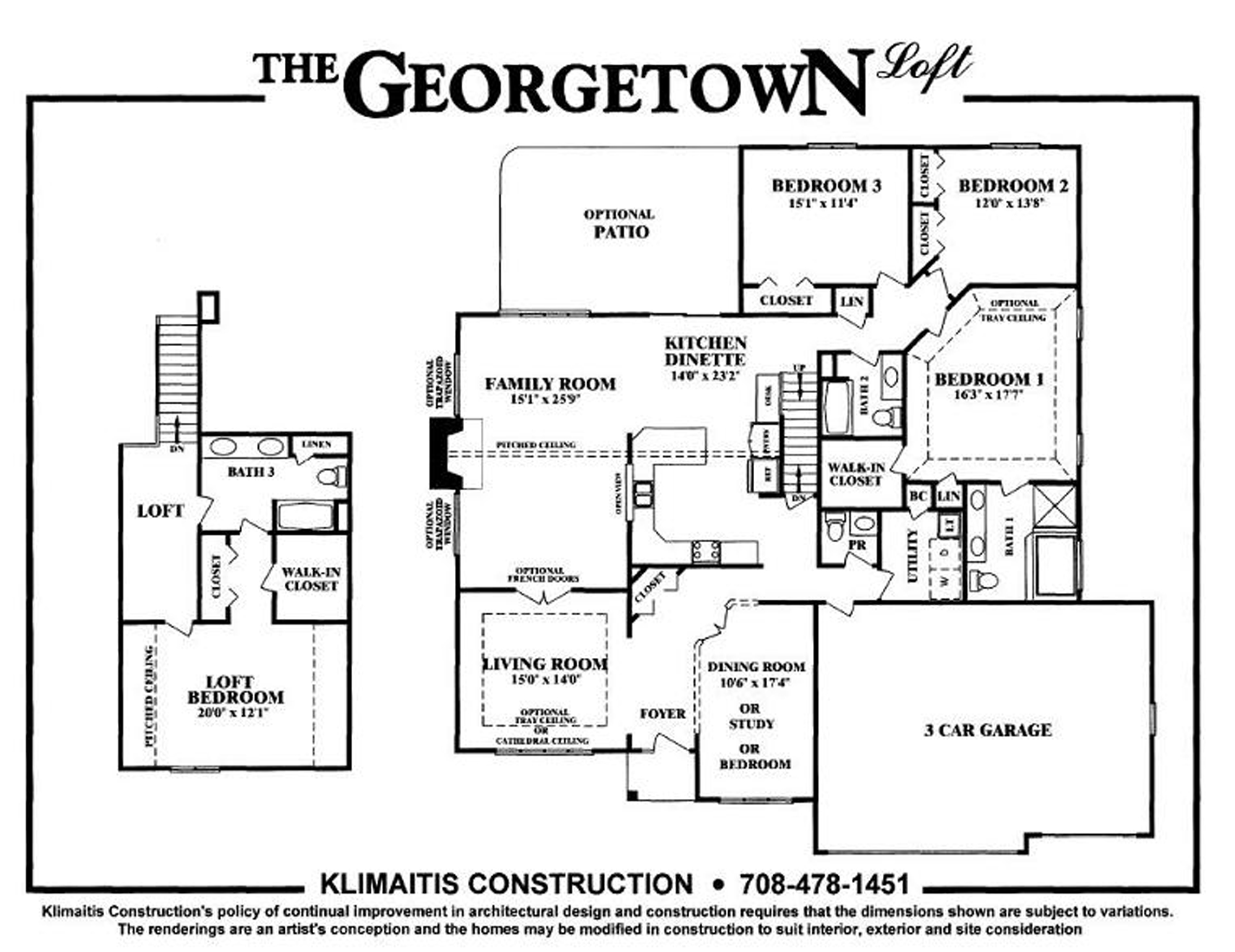 The Georgetown Model - Klimaitis Builders - Kci