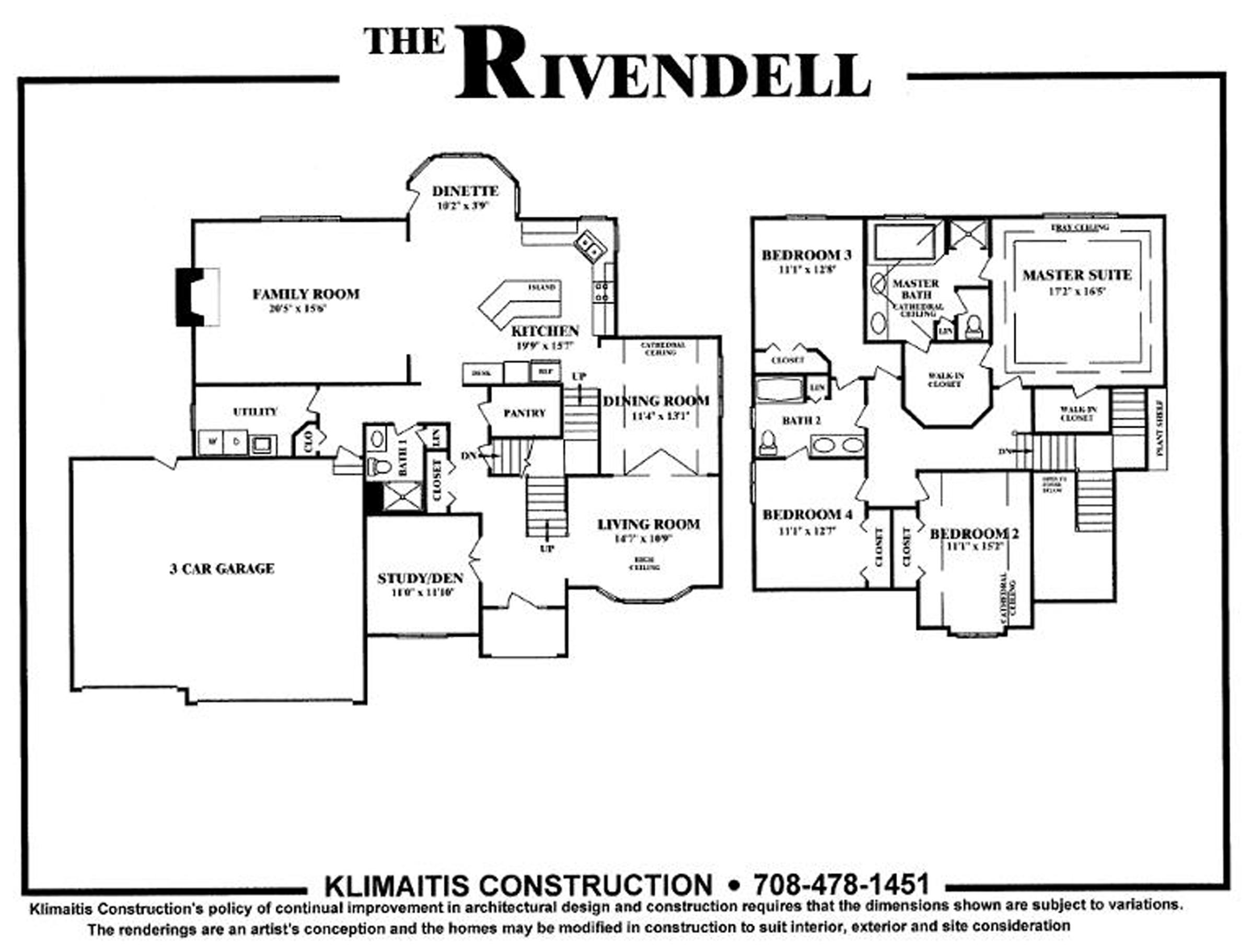 The Rivendell Model Klimaitis Builders Kci